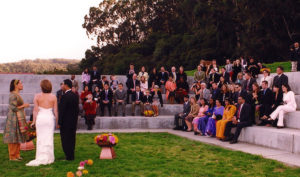 Debbie and Arun Ceremony Crissy Field Wedding Shannon Berry Wedding Consultant