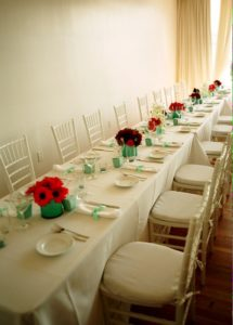 Nishka and Carl Acqua Hotel Mill Valley Wedding dining tables Shannon Berry Wedding Consulting
